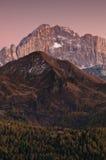 Mountain sunset Royalty Free Stock Photos