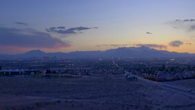 Mountain sunset panning. Video of mountain sunset panning stock video footage