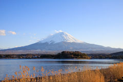Mountain symbol of Japan Royalty Free Stock Images
