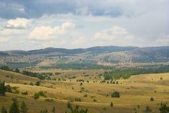 Mountain tableland Royalty Free Stock Image