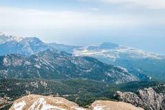 Mountain Tahtali, Kemer in Turkey Stock Photos