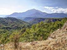 Mountain Tahtali, Kemer in Turkey Stock Photography