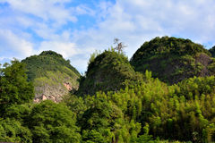 Mountain in Taining, Fujian, China Stock Photos