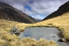 Mountain Tarn, Edwards Valley Royalty Free Stock Photos