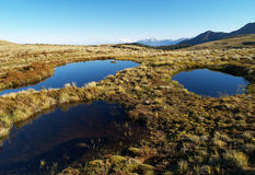 Mountain tarns Stock Image