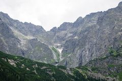 Mountain Tatry in Poland2 Stock Images