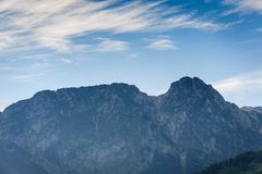 Mountain Tatry in Poland. Landscape royalty free stock photography