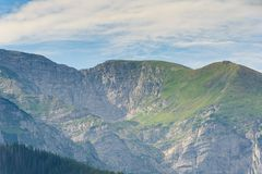 Mountain Tatry in Poland. Landscape royalty free stock photo