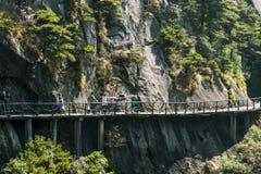Mountain Taxi Stock Photo