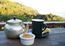 Mountain Tea Royalty Free Stock Images