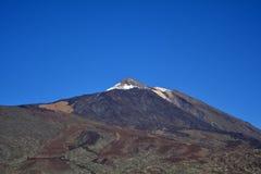 Mountain Teide in Tenerife, Canary Islands, Spain. Stock Photos