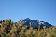 Mountain Teide in Tenerife, Canary Islands, Spain. Royalty Free Stock Image