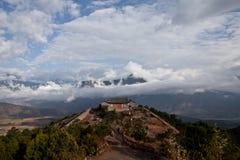 Mountain temple Stock Image