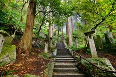 Mountain Temple Trail stock photos