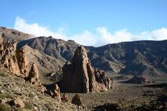 Mountain on Tenerife Royalty Free Stock Photos