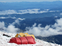 Mountain Tents Royalty Free Stock Images