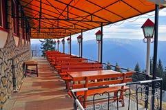 Mountain terrace stock photos