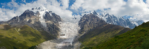 Mountain ''Tetnuld'' in Caucasus Stock Photography