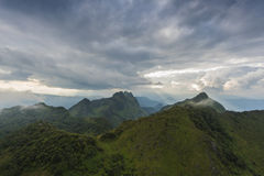 Mountain in Thailand Royalty Free Stock Photography