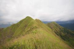 Mountain thailand. Khao chang peak stock image