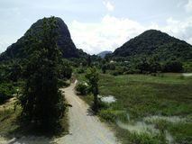Mountain in Thailand view Stock Image