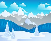 Mountain theme landscape 4 Stock Images