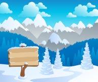 Mountain theme landscape 5 Royalty Free Stock Photography