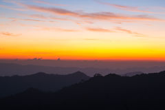 Mountain at Thong Pha phum National Park Royalty Free Stock Photo