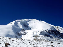 Mountain in Thorong La Pass Royalty Free Stock Images