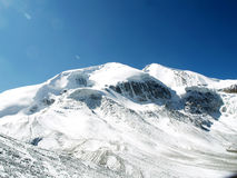 Mountain in Thorong La Pass Stock Images