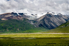 Mountain in Tibet, China. This is the border of Sichuan and Tibet in China, I shot the mountain Stock Photos