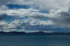 Siling Lake in Tibet Royalty Free Stock Photo