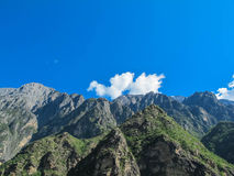 Mountain at Tiger Leaping Gorge, China royalty free stock photos