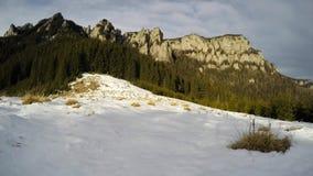 Mountain time-lapse stock video