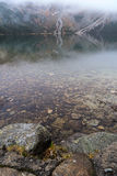 Mountain to the Morskie Oko lake near Zakopane, Tatra mountains Stock Images