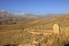 Mountain tomb Stock Image