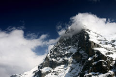 Mountain top Stock Images