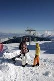 mountain top fotografia royalty free