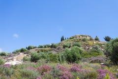 Mountain top of Agios Ioannis. Crete - Greece - Mountain top of Agios Ioannis Stock Images