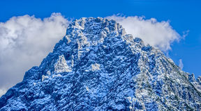 Mountain Top Dolomites Stock Images