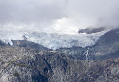Mountain Top Glacier Royalty Free Stock Photography