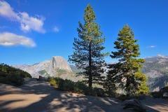 The mountain top Half Doum in Yosemite Stock Photos
