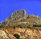 Mountain top (Lion's Head) Royalty Free Stock Photo