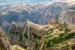 Mountain top in Madeira Royalty Free Stock Photo