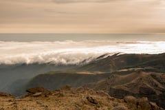 Mountain top in Madeira Royalty Free Stock Photos
