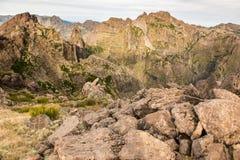 Mountain top in Madeira Stock Photos