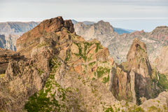 Mountain top in Madeira Stock Images
