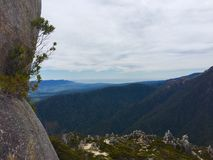 Mountain top in New Zealand Stock Photography