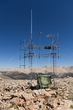 Mountain Top Radio Antenna Royalty Free Stock Photo