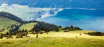 St. Wolfgang Lake. At mountain top of St. Wolfgang lake Royalty Free Stock Photos